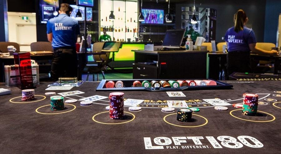 Mcphillips Station Casino Loft 180 Tables