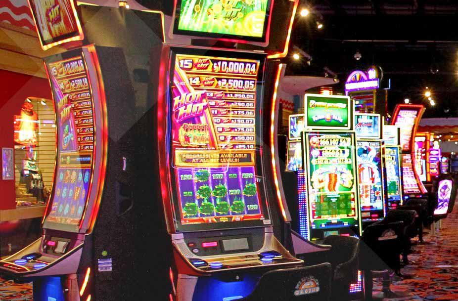 Slot machine in South Beach Casino